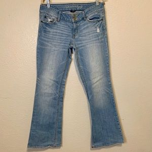 American Eagle Artist Stretch Flare Jeans Size 10